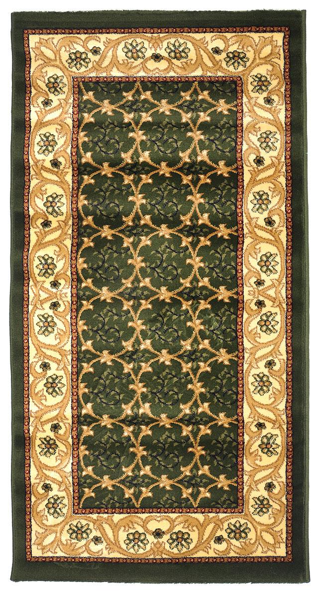 Ковер Kamalak Tekstil, прямоугольный, 80 x 150 см. УК-0219УК-0219Ковер Kamalak Tekstil изготовлен из прочного синтетическогоматериала heat-set, улучшенного варианта полипропилена (эта нитьполучается в результате его дополнительной обработки). Полипропиленизносостоек, нетоксичен, не впитываетвлагу, не провоцирует аллергию. Структура волокна вполипропиленовыхковрах гладкая, поэтому грязь не будет въедаться и скапливаться наворсе.Практичный и износоустойчивый ворс не истирается и не накапливаетстатическое электричество.Ковер обладает хорошими показателями теплостойкости ишумоизоляции.Оригинальный рисунок позволит гармонично оформить интерьеркомнаты,гостиной или прихожей.За счет невысокого ворса ковер легко чистить. При надлежащемуходесинтетический ковер прослужит долго, не утратив ни яркости узора,ниблеска ворса, ни упругости.Самый простой способ избавить изделие от грязи - пропылесоситьего собеих сторон (лицевой и изнаночной). Влажная уборка с применениемшампуней и моющих средств не противопоказана.Хранить рекомендуется в свернутом рулоном виде.