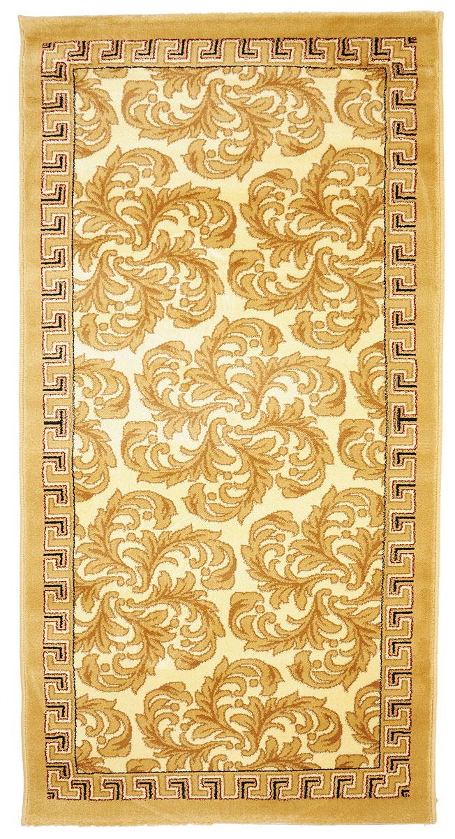 Ковер Kamalak Tekstil, прямоугольный, 80 x 150 см. УК-0286УК-0286Ковер Kamalak Tekstil изготовлен из прочного синтетического материала heat-set, улучшенного варианта полипропилена (эта нить получается в результате его дополнительной обработки). Полипропилен износостоек, нетоксичен, не впитывает влагу, не провоцирует аллергию. Структура волокна в полипропиленовых коврах гладкая, поэтому грязь не будет въедаться и скапливаться на ворсе. Практичный и износоустойчивый ворс не истирается и не накапливает статическое электричество. Ковер обладает хорошими показателями теплостойкости и шумоизоляции. Оригинальный рисунок позволит гармонично оформить интерьер комнаты, гостиной или прихожей. За счет невысокого ворса ковер легко чистить. При надлежащем уходе синтетический ковер прослужит долго, не утратив ни яркости узора, ни блеска ворса, ни упругости. Самый простой способ избавить изделие от грязи - пропылесосить его с обеих сторон (лицевой и изнаночной). Влажная уборка с применением шампуней и моющих средств не противопоказана. Хранить рекомендуется в свернутом рулоном виде.
