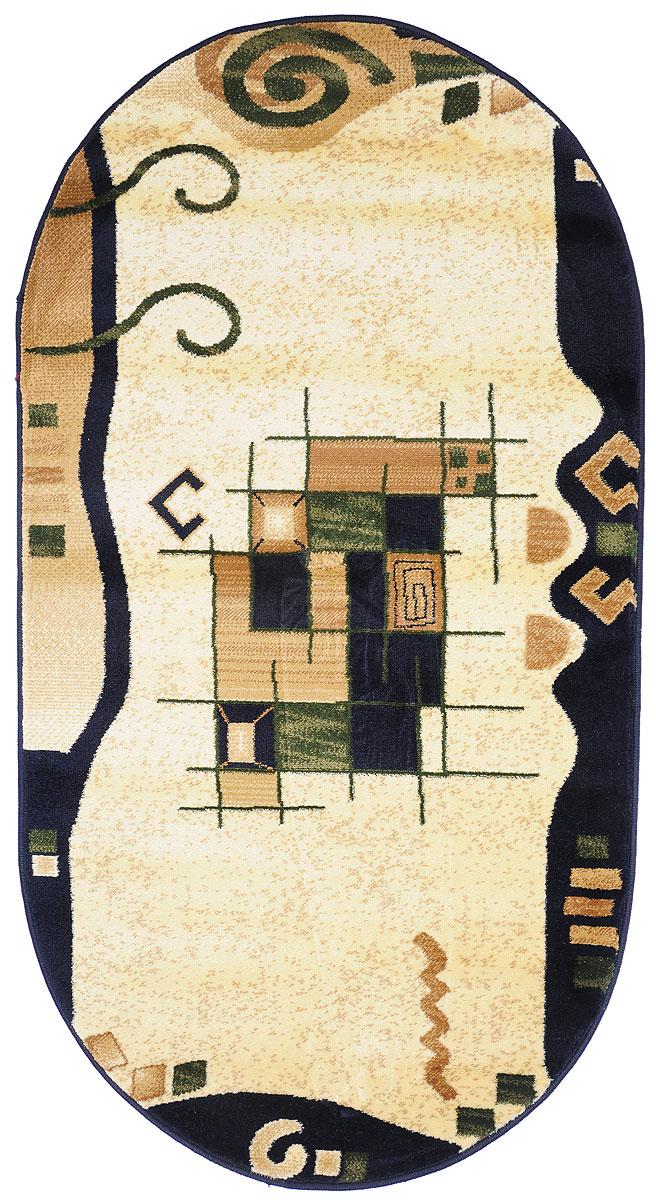 """Ковер """"Kamalak Tekstil"""", овальный, 80 x 150 см. УК-0335"""