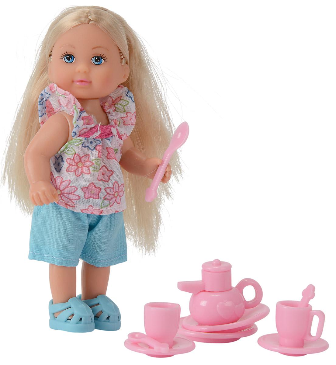 Simba Игровой набор Еви с кухонными аксессуарами simba игровой набор с мини куклой evi love fairy carriage