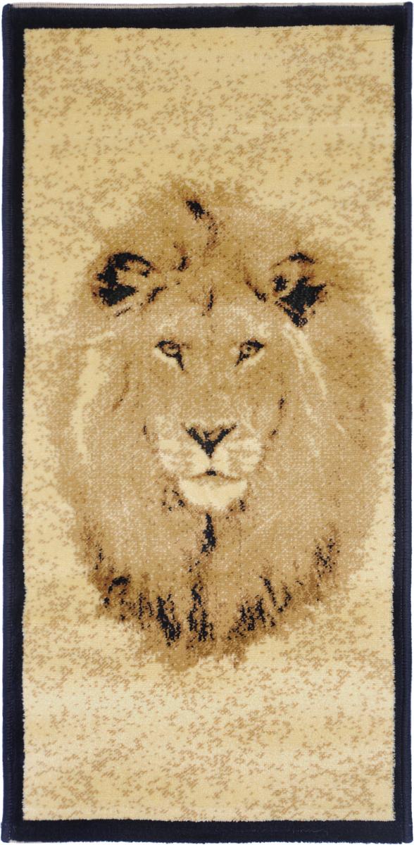 Ковер Kamalak Tekstil, прямоугольный, 50 x 100 см. УК-0519 ковер kamalak tekstil ук 0494