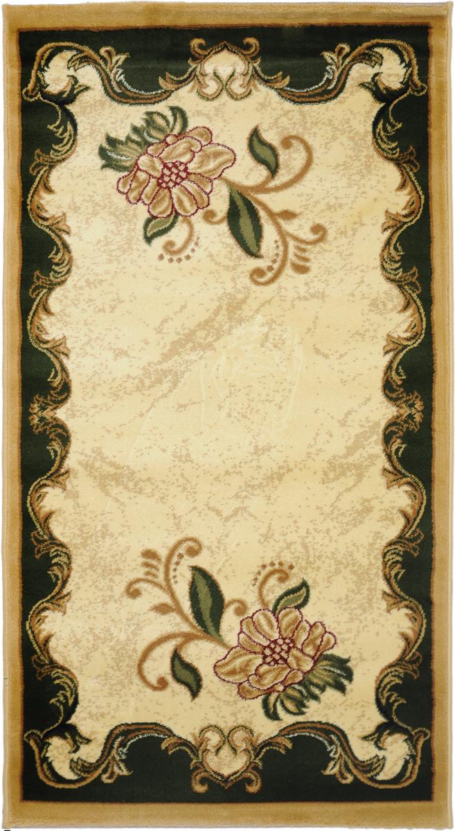 Ковер Kamalak Tekstil, прямоугольный, 80 x 150 см. УК-0072 ковер kamalak tekstil ук 0494