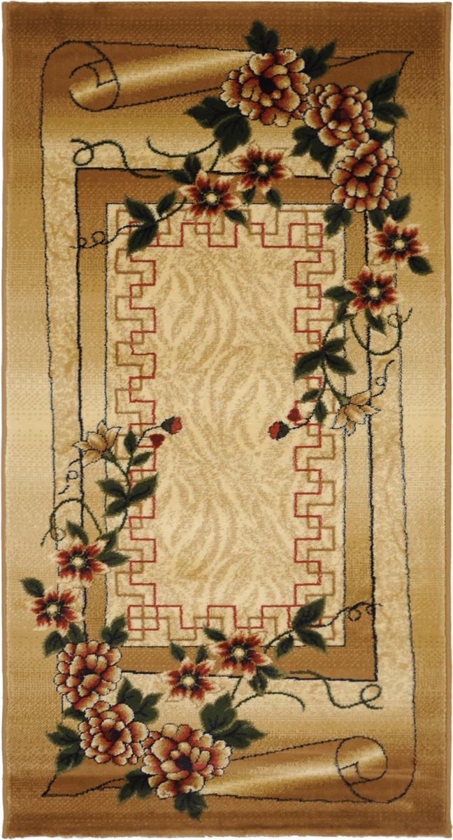 Ковер Kamalak Tekstil, прямоугольный, 80 x 150 см. УК-0060 ковер kamalak tekstil ук 0515