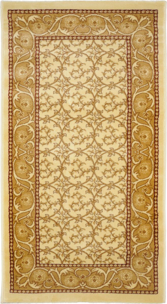 Ковер Kamalak Tekstil, прямоугольный, 80 x 150 см. УК-0216УК-0216Ковер Kamalak Tekstil изготовлен из прочного синтетическогоматериала heat-set, улучшенного варианта полипропилена (эта нитьполучается в результате его дополнительной обработки). Полипропиленизносостоек, нетоксичен, не впитываетвлагу, не провоцирует аллергию. Структура волокна вполипропиленовыхковрах гладкая, поэтому грязь не будет въедаться и скапливаться наворсе.Практичный и износоустойчивый ворс не истирается и не накапливаетстатическое электричество.Ковер обладает хорошими показателями теплостойкости ишумоизоляции.Оригинальный рисунок позволит гармонично оформить интерьеркомнаты,гостиной или прихожей.За счет невысокого ворса ковер легко чистить. При надлежащемуходесинтетический ковер прослужит долго, не утратив ни яркости узора,ниблеска ворса, ни упругости.Самый простой способ избавить изделие от грязи - пропылесоситьего собеих сторон (лицевой и изнаночной). Влажная уборка с применениемшампуней и моющих средств не противопоказана.Хранить рекомендуется в свернутом рулоном виде.