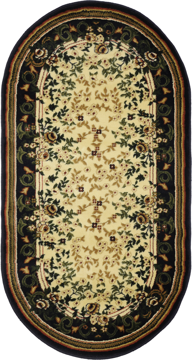 Ковер Kamalak Tekstil, овальный, 80 x 150 см. УК-0116 ковер kamalak tekstil ук 0494