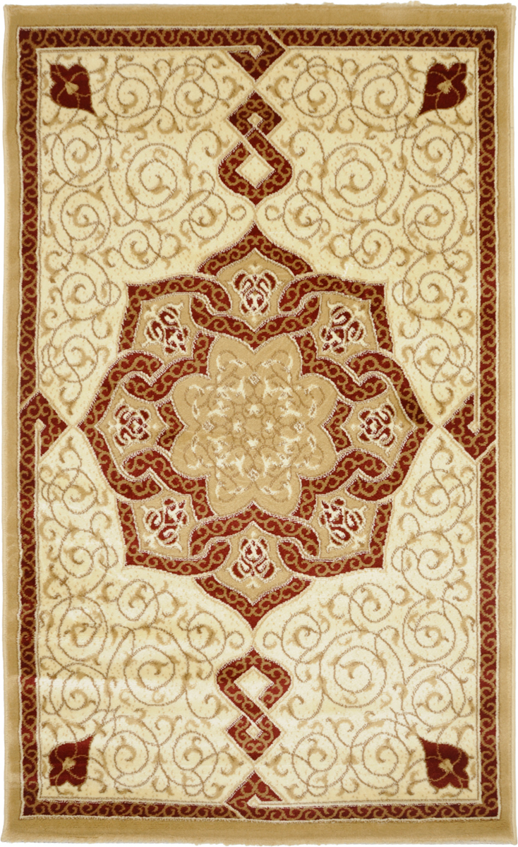 """Фото Ковер """"Kamalak Tekstil"""", прямоугольный, 100 x 150 см. УК-0086"""