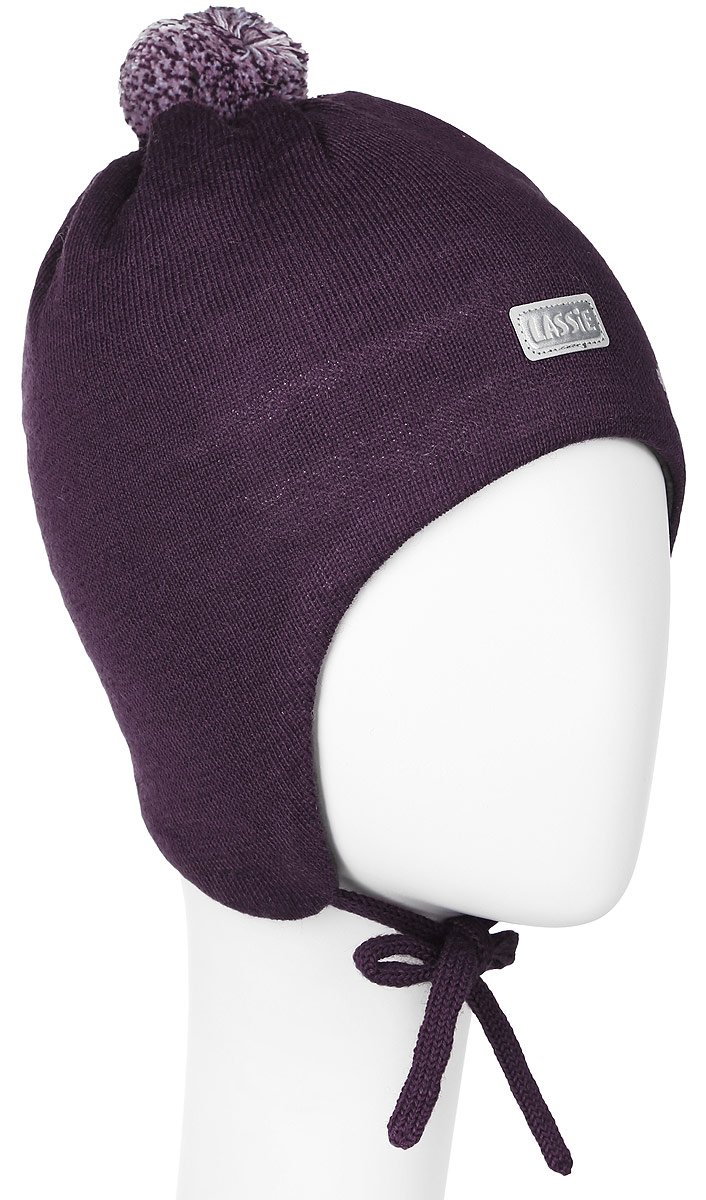 Шапка для девочки Lassie, цвет: бордовый. 718699-4980. Размер XXS (42/44)718699-4980Комфортная шапка для девочки Reima Lassie идеально подойдет для прогулок в холодное время года. Вязаная шапка с ветрозащитными вставками в области ушей, выполненная из шерсти и акрила, максимально сохраняет тепло, она мягкая и идеально прилегает к голове. Мягкая подкладка выполнена из флиса, поэтому шапка хорошо сохраняет тепло и обладает отличной гигроскопичностью (не впитывает влагу, но проводит ее).Шапка завязывается на завязки под подбородком и оформлена цветочным принтом, ярким помпоном и светоотражающей нашивкой с названием бренда.В ней ваша дочурка будет чувствовать себя уютно и комфортно. Уважаемые клиенты!Размер, доступный для заказа, является обхватом головы.