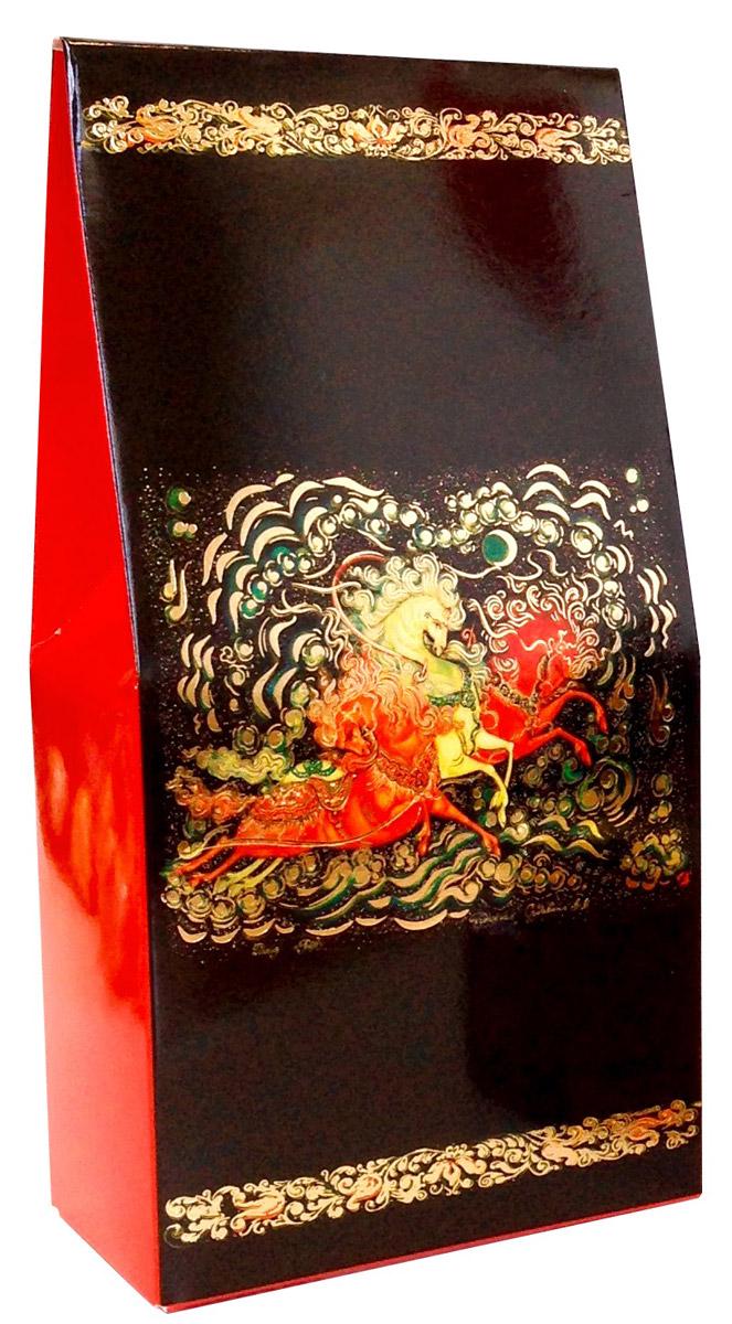 Коробка подарочная Правила Успеха Тройка, 9 х 18 х 5 см4610009214306Дизайн подарочной коробки Правила Успеха выполнен художественной росписью - Палех. Пишется Палех яркими темперными красками, густыми и плотными мазками, либо тонкими и полупрозрачными. Для начала на изделие наносится чёрная краска, что в палехе является фоном для рисунка. Чтобы нарисовать одну картину уходит очень много времени, не один месяц, это очень сложный и трудоёмким процесс.В результате получается картины сказочной красоты, которые потом используются в упаковках.Упаковку хочется держать в руках и рассматривать детали картины. Подарки в этой упаковке будут смотреться роскошно и благородно.Коробка изготовлена из картона. Тиснение выполнено золотой фольгой.Размер: 9 х 18 х 5 см.