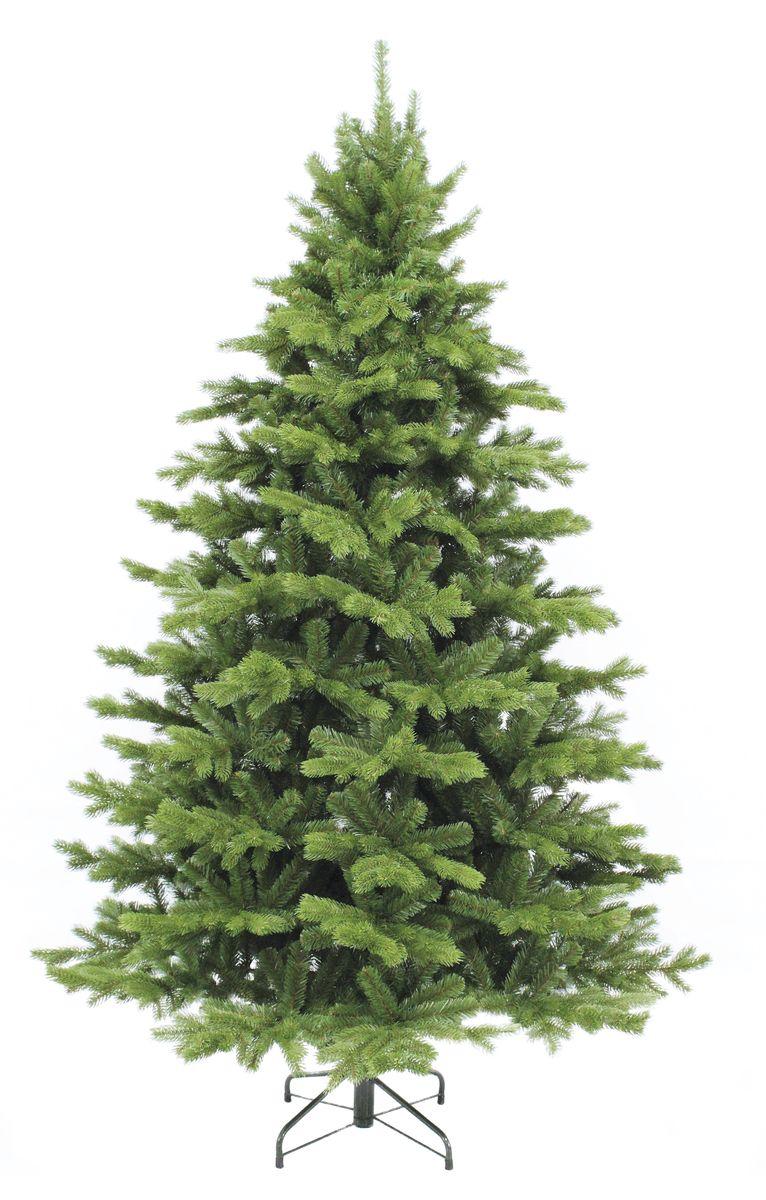 Ель искусственная Triumph Tree Шервуд Премиум, цвет: зеленый, высота 185 см389096Основной материал изготовления веток елки Шервуд - полиэтилен (PE), ветки расположены снаружи; внутренний слой содержит ветки из пвх материала. Елки из полиэтилена (PE) относятся к новому поколению так называемых – литых елок (часто еще такие елки ошибочно называют резиновые, хотя на самом деле этот материал - не что иное, как мягкий и приятный на ощупь полиэтилен). Каждая веточка из полиэтилена (PE) отливается в специальных формах, что делает елку похожей - на настоящую.