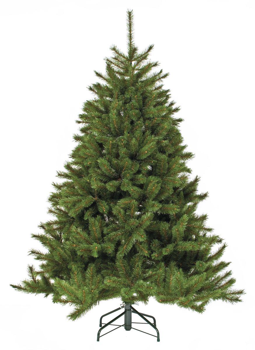 Ель искусственная Triumph Tree Лесная красавица, цвет: зеленый, высота 120 см788039Искусственная ель Triumph Tree Лесная красавица, выполненная из ПВХ, станет прекрасным вариантом для оформления вашего интерьера к Новому году. Такая ель абсолютно безопасна для самых непоседливых малышей, удобна в сборке и не занимает много места при хранении. Она быстро и легко устанавливается и имеет естественный и абсолютно натуральный вид. Еловые иголочки не осыпаются, не мнутся и не выцветают со временем.Полимерные материалы, из которых они изготовлены, не токсичны и не поддаются горению. Для большего объема и пушистости, ветки на верхушке закреплены в хаотичном порядке.Ель Triumph Tree Лесная красавица обязательно создаст настроение волшебства и уюта, а также станет прекрасным украшением дома на период новогодних праздников.Высота: 120 см.