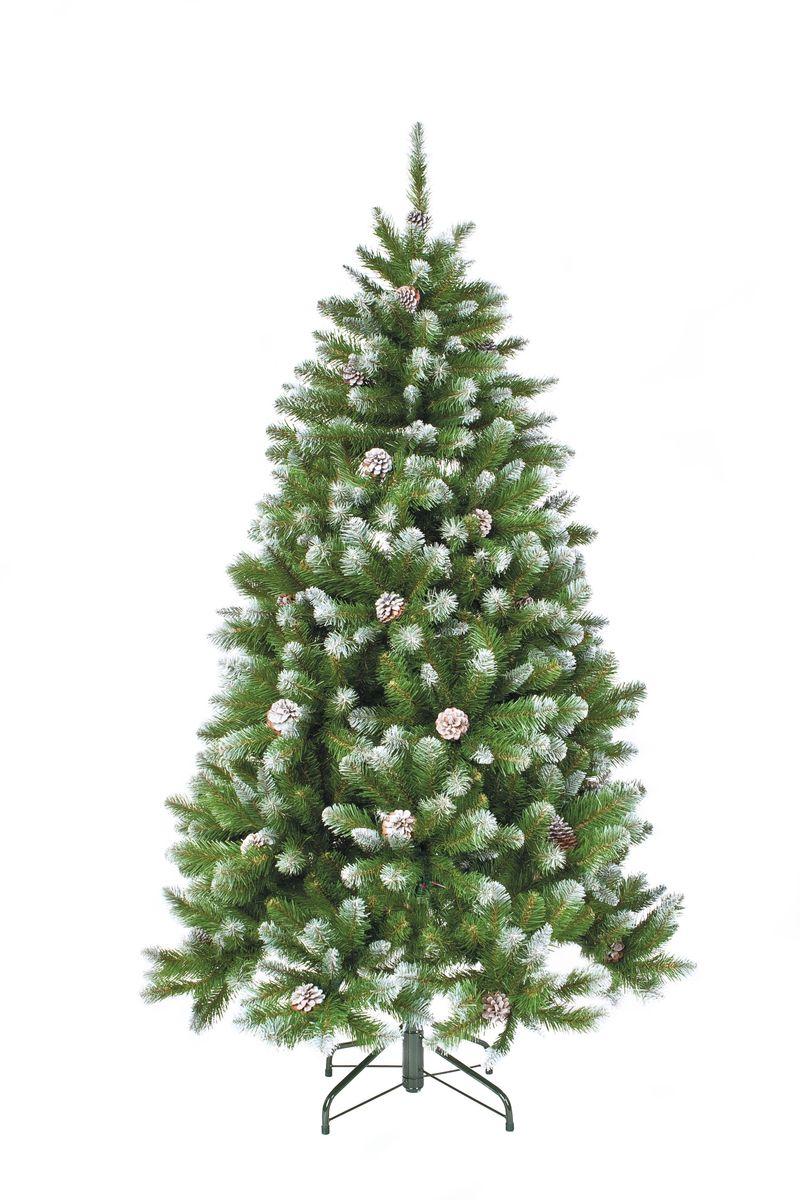 """Ель искусственная Triumph Tree """"Императрица"""", с шишками, цвет: зеленый, высота 185 см"""