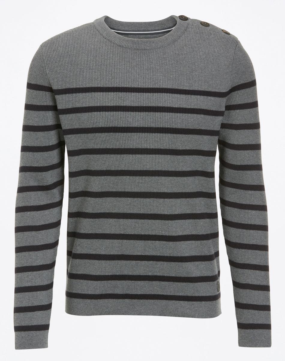 цена Джемпер мужской Marc O'Polo, цвет: серый. 506260698. Размер L (50) онлайн в 2017 году