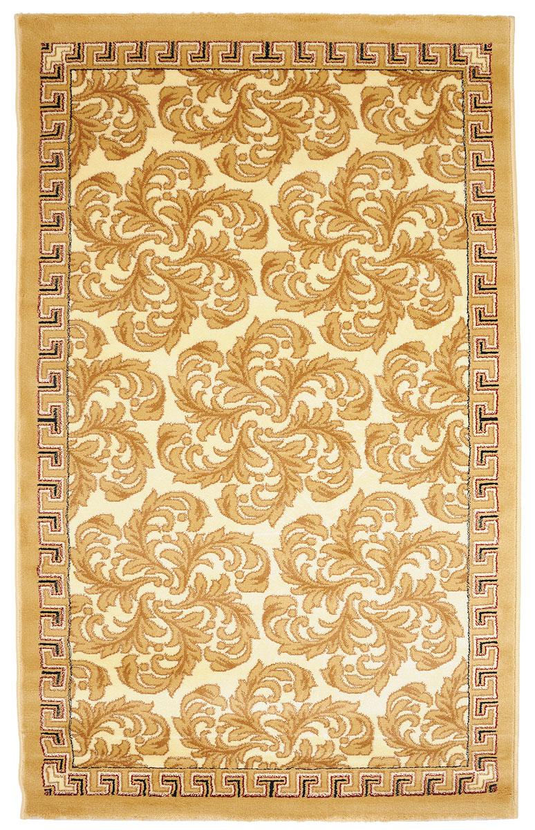 Ковер Kamalak Tekstil, прямоугольный, 100 x 150 см. УК-0284425AКовер Kamalak Tekstil изготовлен из прочного синтетического материала heat-set, улучшенного варианта полипропилена (эта нить получается в результате его дополнительной обработки). Полипропилен износостоек, нетоксичен, не впитывает влагу, не провоцирует аллергию. Структура волокна в полипропиленовыхковрах гладкая, поэтому грязь не будет въедаться и скапливаться на ворсе. Практичный и износоустойчивый ворс не истирается и не накапливает статическое электричество.Ковер обладает хорошими показателями теплостойкости и шумоизоляции. Оригинальный рисунок позволит гармонично оформить интерьер комнаты, гостиной или прихожей.За счет невысокого ворса ковер легко чистить. При надлежащем уходе синтетический ковер прослужит долго, не утратив ни яркости узора, ни блеска ворса, ни упругости.Самый простой способ избавить изделие от грязи - пропылесосить его с обеих сторон (лицевой и изнаночной). Влажная уборка с применением шампуней и моющих средств не противопоказана.Хранить рекомендуется в свернутом рулоном виде.