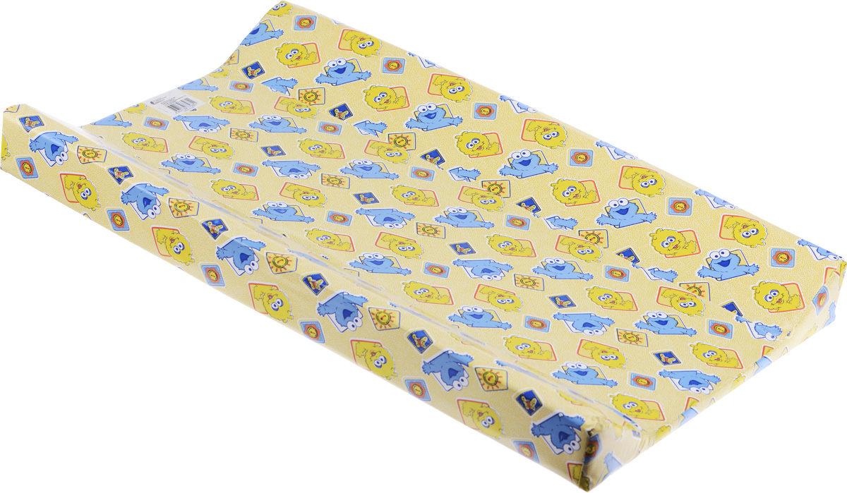 Фея Доска пеленальная Параллель Классик цвет желтый -  Позиционеры, матрасы для пеленания
