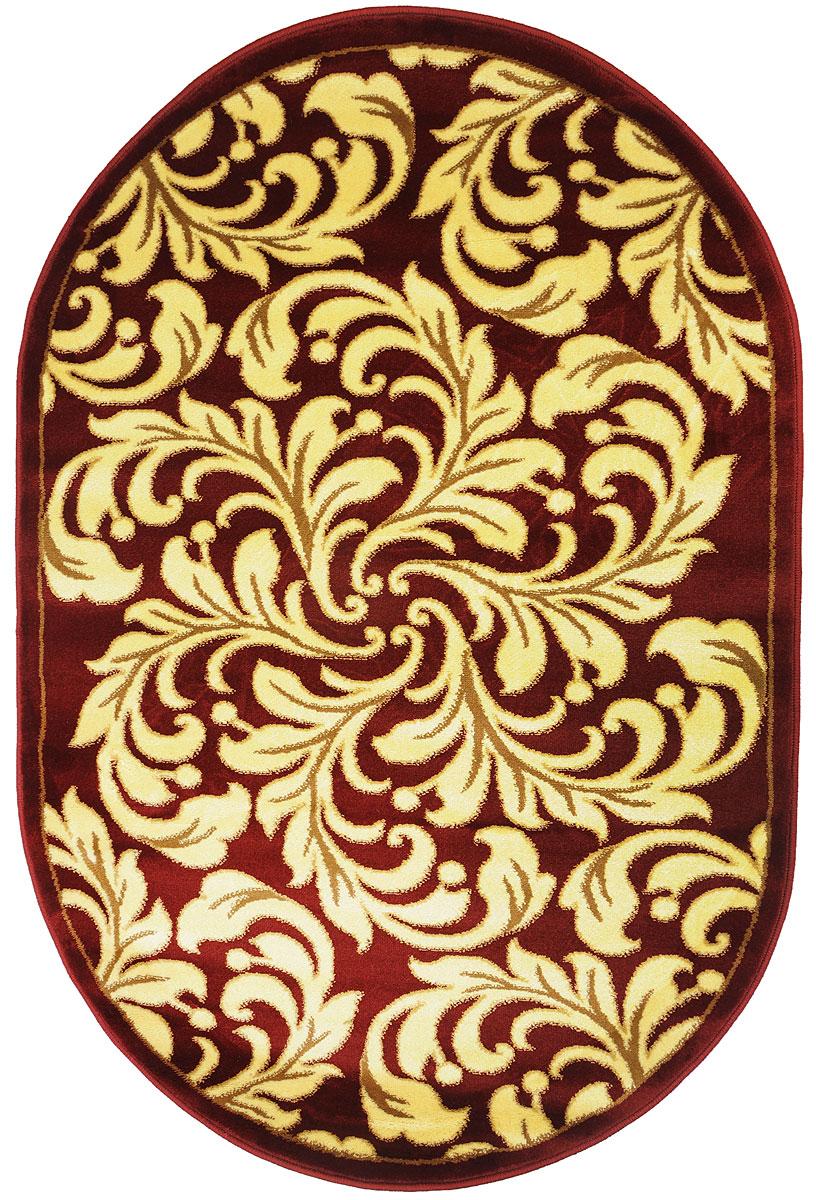 Ковер Kamalak Tekstil, овальный, 100 x 150 см. УК-0327 ковер kamalak tekstil ук 0498