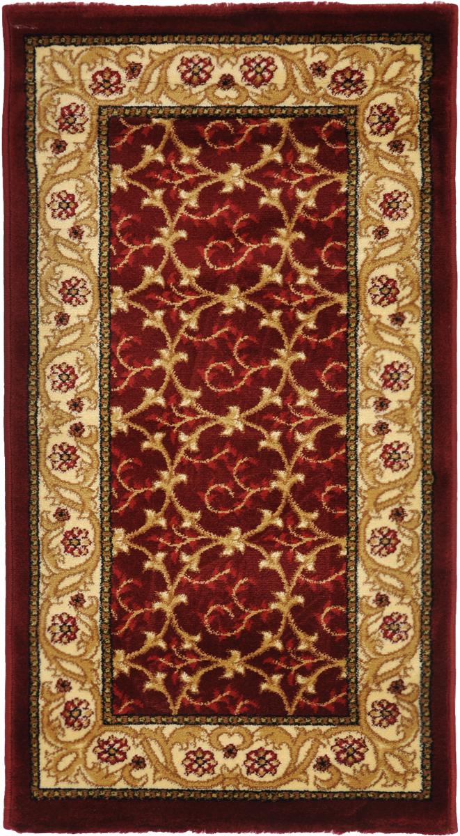 Ковер Kamalak Tekstil, прямоугольный, 60 x 110 см. УК-0223 ковер kamalak tekstil ук 0494