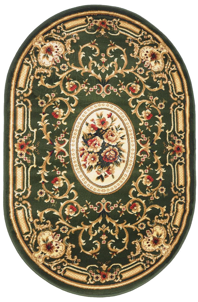 Ковер Kamalak Tekstil, овальный, 100 x 150 см. УК-0267 ковер kamalak tekstil ук 0515