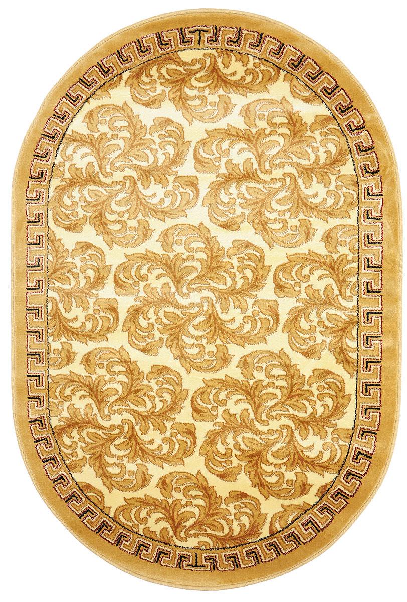 Ковер Kamalak Tekstil, овальный, 100 x 150 см. УК-0285 ковер kamalak tekstil ук 0511