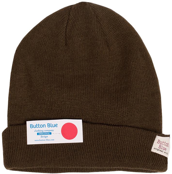 Шапка для мальчика Button Blue, цвет: темно-оливкаый. 216BBBX73020900. Размер 56, 12-13 лет216BBBX73020900Детская вязаная шапка - важный атрибут повседневной одежды! Модель выполнена из высококачественного материала и оформлена подворотом. Уважаемые клиенты!Размер, доступный для заказа, является обхватом головы ребенка.