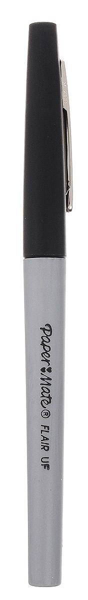 Paper mate Роллер Flair Uf цвет черныйPM-S0901321Стильный и современный роллер Flair Uf отличается простотой линий и строгостью дизайна. Ручка-роллер имеет плотно защелкивающийся пластиковый колпачок с металлическим клипом.Благодаря утолщенному корпусу и сбалансированному весу, ручку удобно держать в руке. Ручка оснащена высокоэффективной подачей чернил.Быстросохнущие чернила черного цвета на водной основе. Чернила не высыхают, оставаясь без колпачка, в течение 48 часов. Полностью восстанавливают свойства в течение 24 часов при закрытом колпачке.