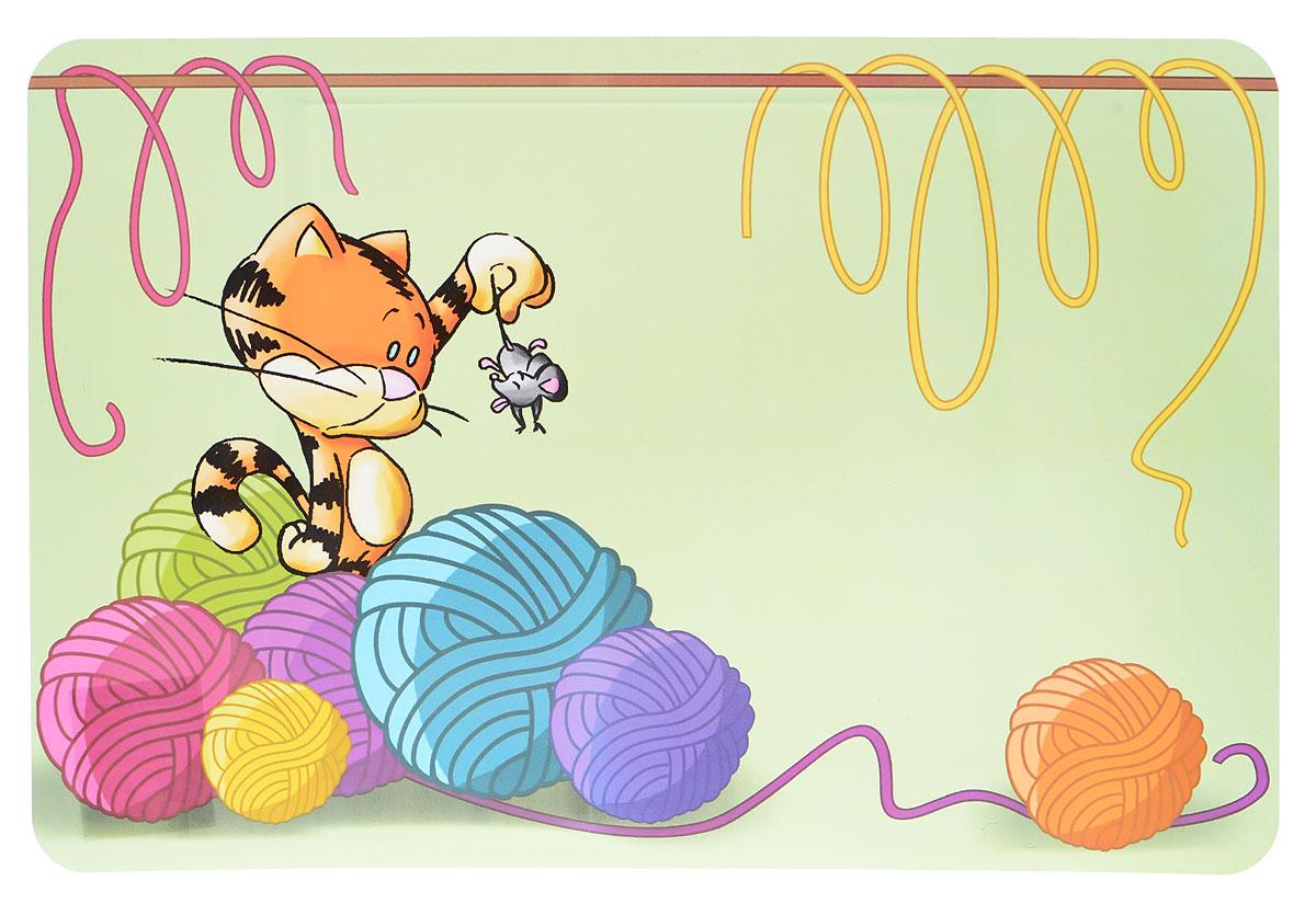 Коврик под миску Pet Fun Котенок, 56 х 38 смYE70725-L/YE70723-LКоврик для миски Pet Fun Котенок изготовлен из высококачественного полипропилена, не токсичен, отличается прочностью и гибкостью. Предназначен для расположения на нем мисок для домашних животных.