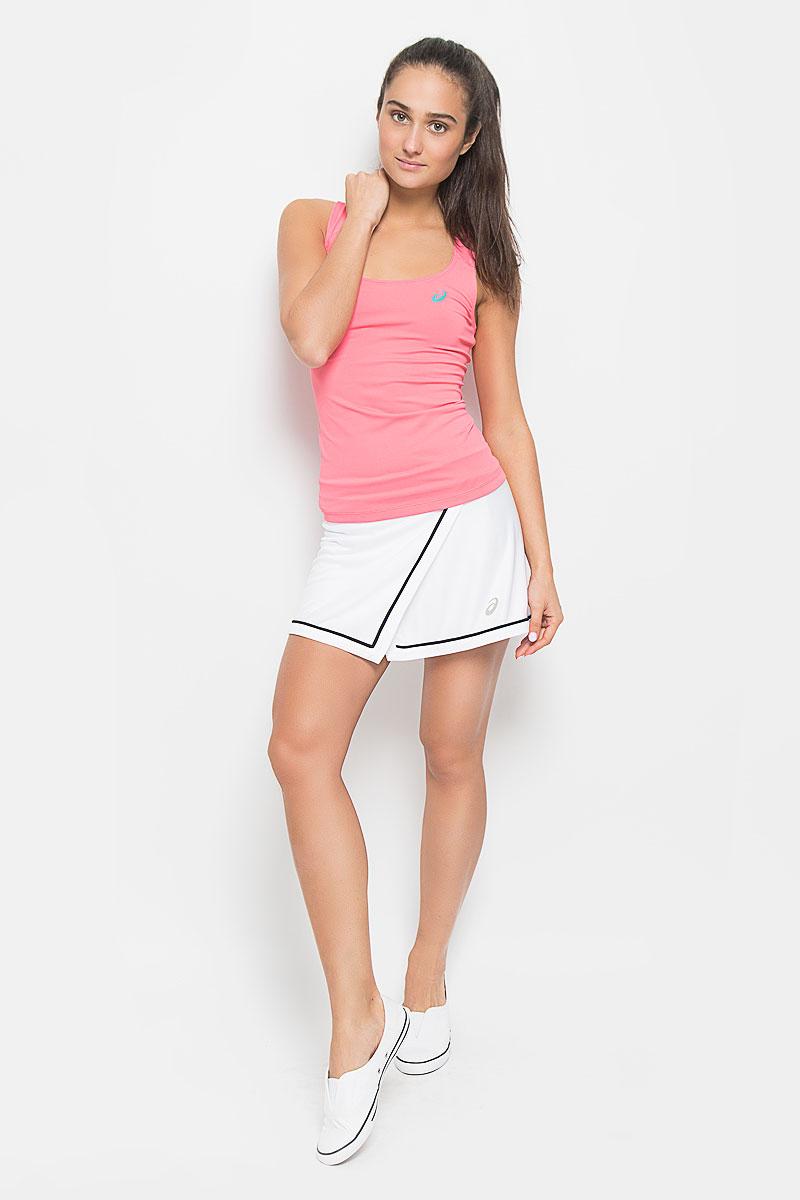 Юбка для тенниса Asics Club Styled Skort, цвет: белый. 130254-0001. Размер XS (40/42) asics юбка skort
