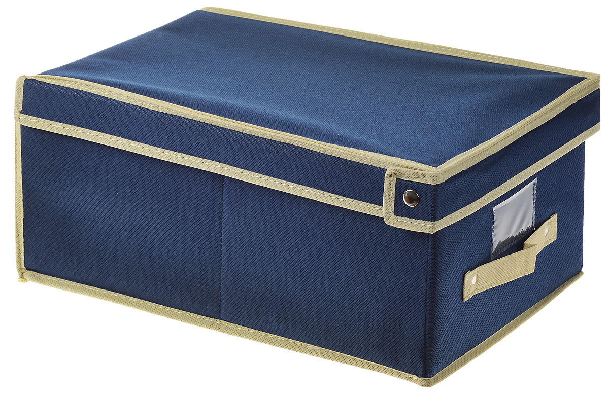 Чехол-коробка для хранения вещей Voila, цвет: светло-бежевый, бежевый, 30 х 45 х 20 смCOVLSCT001_бежевый, синийЧехол-коробка Voila выполнен из полипропилена и предназначен для хранения вещей.Он защитит вещи от повреждений, пыли, влаги и загрязнений во время хранения итранспортировки. Чехол-коробка идеально подходит для хранения детских вещей и игрушек.Жесткий каркас из плотного толстогокартона обеспечивает устойчивость конструкции. В окне-кармашке на передней стенке чехламожно поместить бумажную этикетку с указаниемсодержимого.