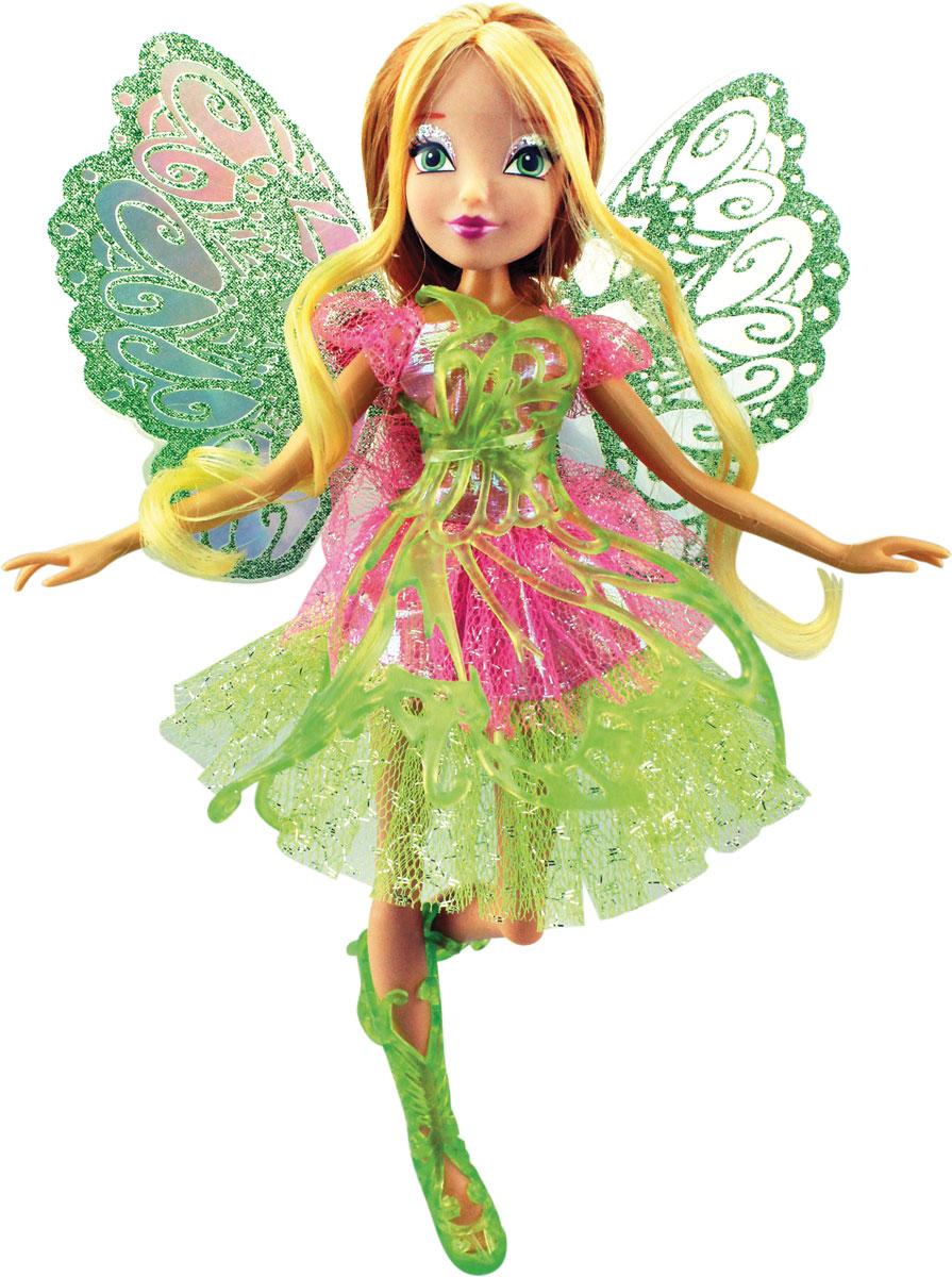 Winx Club Кукла Баттерфликс-2 Flora gulliver кукла баттерфликс 2 двойные крылья flora winx club