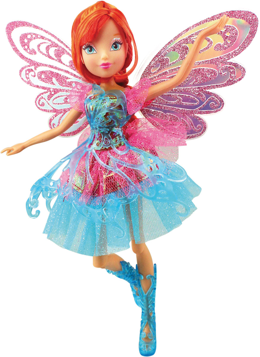 Winx Club Кукла Баттерфликс-2 Bloom gulliver кукла баттерфликс 2 двойные крылья bloom winx club