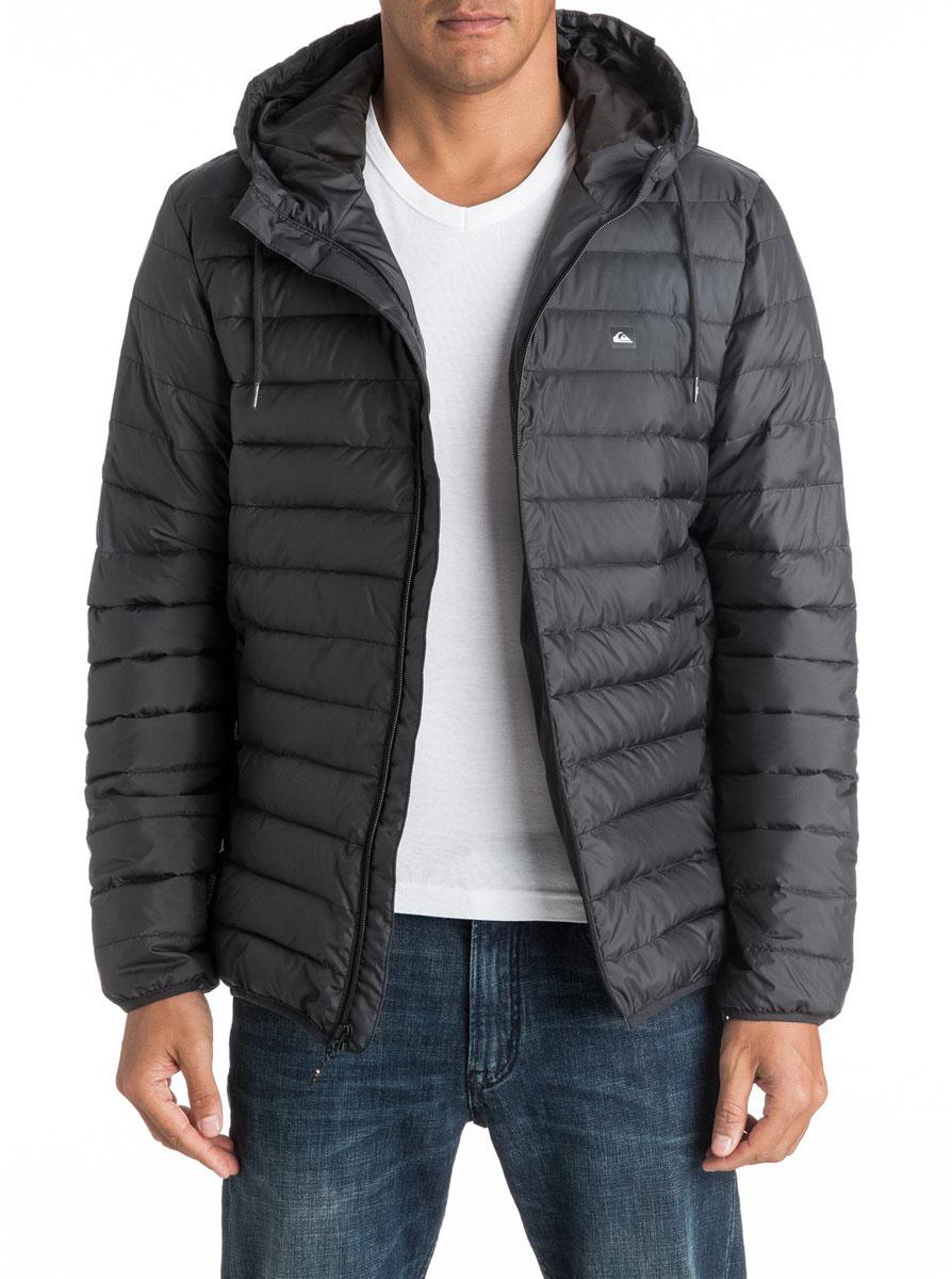 Куртка мужская Quiksilver Everydayscaly M Jckt, цвет: темно-серый. EQYJK03234-KTA0. Размер XS (44) джинсы мужские quiksilver цвет светло синий eqydp03193 bnqw размер xs 44