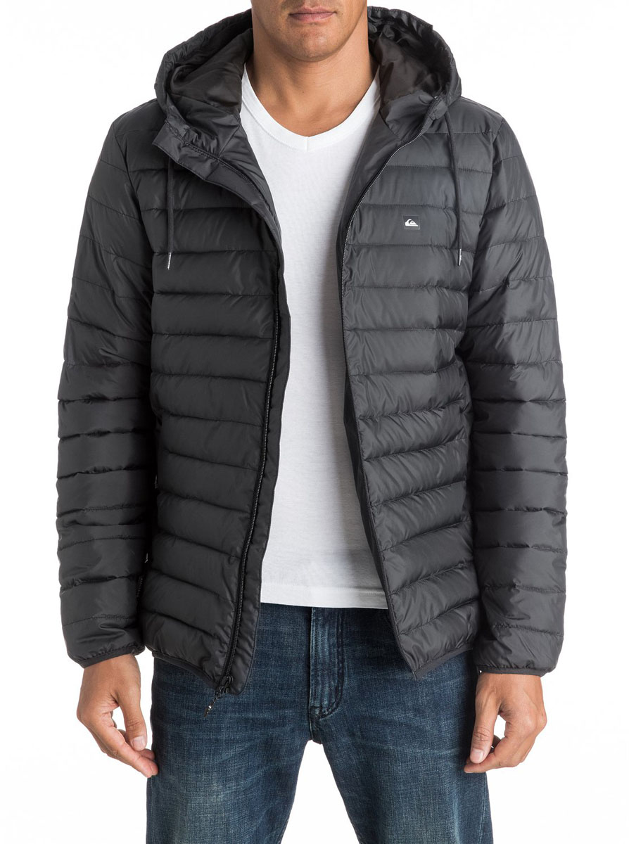 Куртка мужская Quiksilver Everydayscaly M Jckt, цвет: темно-серый. EQYJK03234-KTA0. Размер XS (44) quiksilver куртка утепленная мужская quiksilver mission