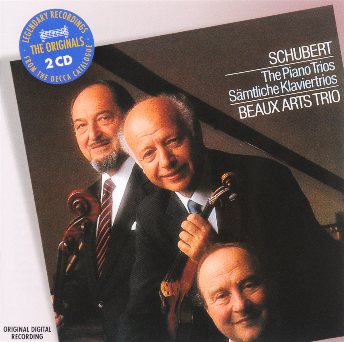 Beaux Arts Trio Beaux Arts Trio. Schubert. The Piano Trios (2 CD) cd the piano guys uncharted
