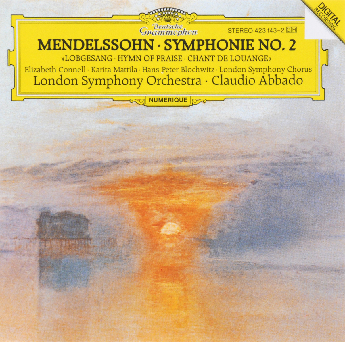 Клаудио Аббадо,The London Symphony Orchestra,London Symphony Chorus Claudio Abbado. London Symphony Orchestra. Mendelssohn. Symphonie No. 2 Lobgesang клаудио аббадо orchestra mozart claudio abbado schubert the great c major symphony 2 lp