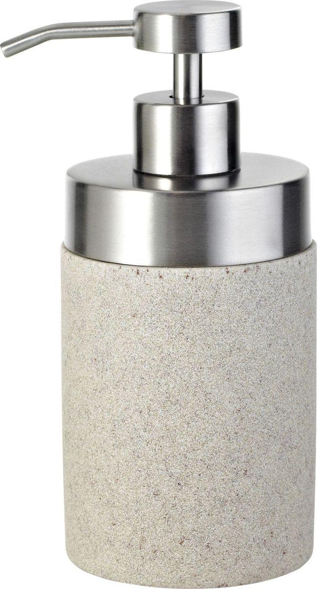 """Дозатор для жидкого мыла Ridder """"Stone"""", изготовленный из экологичного полирезина,отлично подойдет для вашей ванной комнаты.Такой аксессуар очень удобен в использовании,достаточно лишь перелить жидкое мыло вдозатор, а когда необходимо использованиемыла, легким нажатием выдавить нужноеколичество. Изделие устойчиво к ультрафиолету. Дозатор для жидкого мыла Ridder """"Stone""""создаст особую атмосферу уюта и максимальногокомфорта в ванной."""