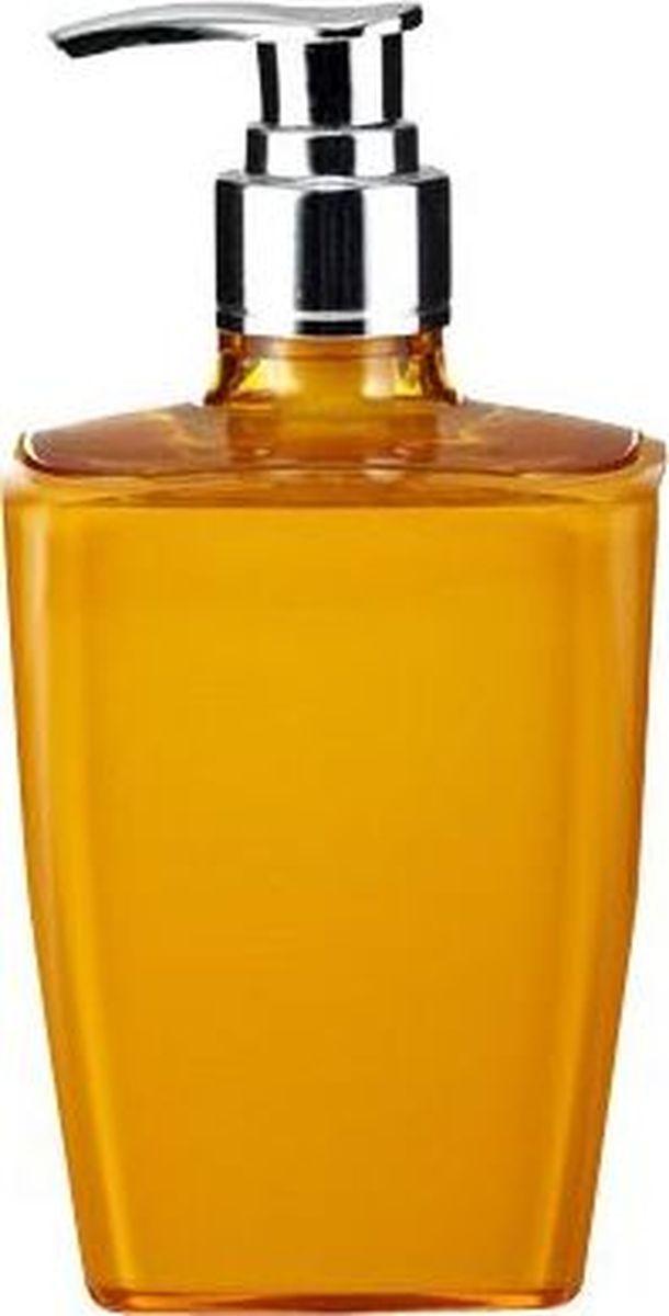 Дозатор для жидкого мыла Ridder Neon, цвет: оранжевыйS03301004Данная серия изготавливается из акрилового стекла. Материал устойчив к ультрафиолету и мытью в посудомоечной машине.
