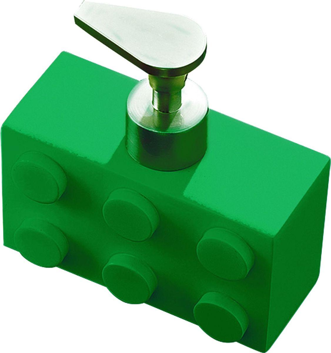 Дозатор для жидкого мыла Ridder Bob, цвет: зеленый, 280 млNN-605-LS-WДозатор для жидкого мыла Ridder Bob, изготовленный из экологичной полирезины, отлично подойдет для вашей ванной комнаты. Такой аксессуар очень удобен в использовании, достаточно лишь перелить жидкое мыло в дозатор, а когда необходимо использование мыла, легким нажатием выдавить нужное количество.Дозатор для жидкого мыла Ridder Bob создаст особую атмосферу уюта и максимального комфорта в ванной. Объем дозатора: 280 мл.