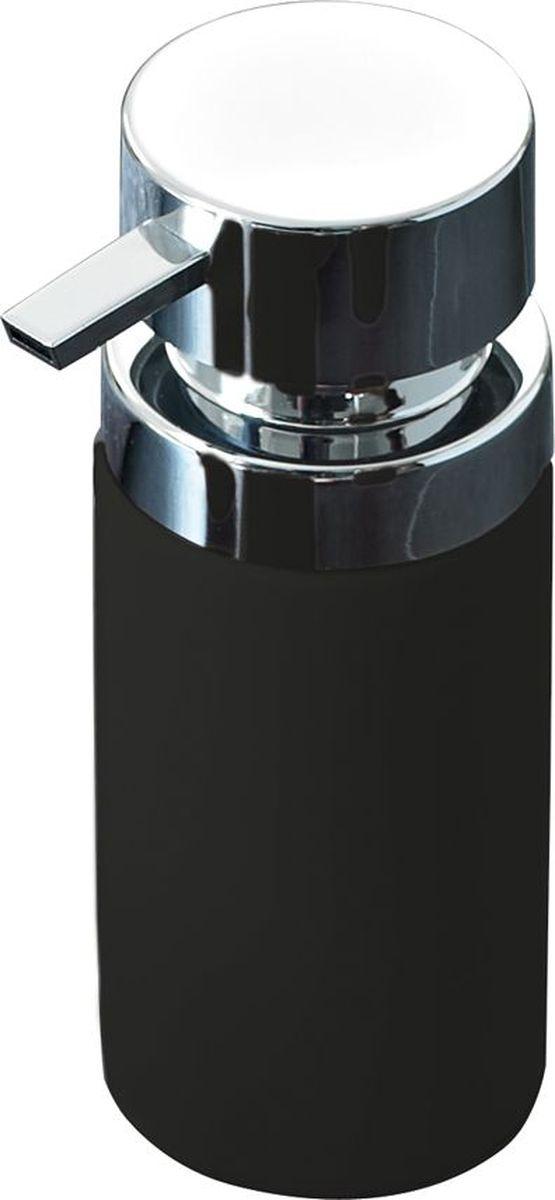 Дозатор для жидкого мыла Ridder Elegance, цвет: черный22220510Дозатор для жидкого мыла Ridder, изготовленный из керамики и стали,отлично подойдет для вашей ванной комнаты.Такой аксессуар очень удобен в использовании, достаточно лишь перелить жидкое мыло вдозатор, а когда необходимо использование мыла, легким нажатием выдавить нужноеколичество. Дозатор для жидкого мыла Ridderсоздаст особую атмосферу уюта и максимальногокомфорта в ванной.Объем дозатора: 210 мл.