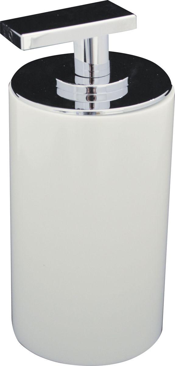 Дозатор для жидкого мыла Ridder Paris, цвет: белый, 200 мл22250501Дозатор для жидкого мыла Ridder Paris, изготовленный из экологичной полирезины, отлично подойдет для вашей ванной комнаты. Такой аксессуар очень удобен в использовании, достаточно лишь перелить жидкое мыло в дозатор, а когда необходимо использование мыла, легким нажатием выдавить нужное количество.Дозатор для жидкого мыла Ridder Paris создаст особую атмосферу уюта и максимального комфорта в ванной. Объем дозатора: 200 мл.