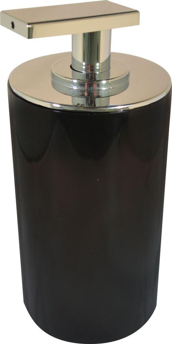 Дозатор для жидкого мыла Ridder Paris, цвет: черный, 200 мл дозатор для жидкого мыла immanuel repose white