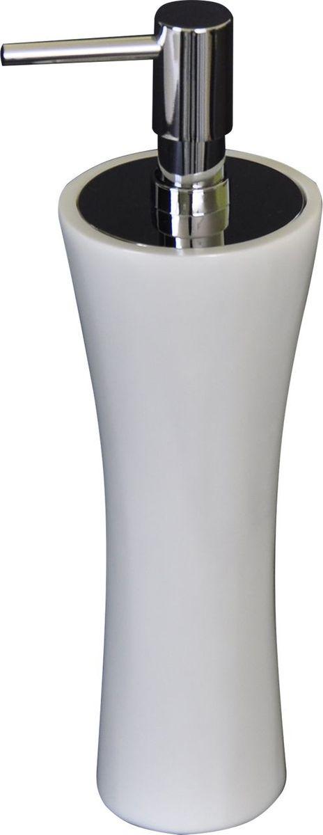 Дозатор для жидкого мыла Ridder Lady, цвет: белый22270501Дозатор для жидкого мыла Ridder Lady, изготовленный из экологичного полирезина,отлично подойдет для вашей ванной комнаты.Такой аксессуар очень удобен в использовании,достаточно лишь перелить жидкое мыло вдозатор, а когда необходимо использованиемыла, легким нажатием выдавить нужноеколичество. Изделие устойчиво к ультрафиолету. Дозатор для жидкого мыла Ridder Ladyсоздаст особую атмосферу уюта и максимальногокомфорта в ванной.