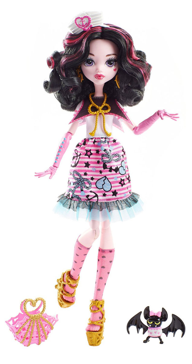 Monster High Кукла Пиратская авантюра Дракулаура monster high кукла пиратская авантюра дракулаура