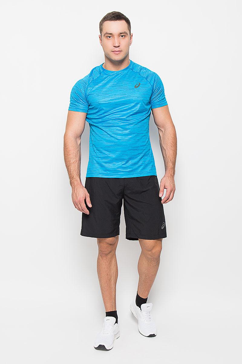 Шорты для бега мужские Asics 2-N-1 9in, цвет: черный. 134094-0904. Размер L (50/52)134094-0904Мужские шорты для бега Asics 2-N-1 9in станут отличным дополнением к вашему спортивному гардеробу. Они выполнены из полиэстера, благодаря чему удобно сидят, обладают высокой износостойкостью, быстро сохнут и превосходно отводят влагу от тела, оставляя кожу сухой.Модель дополнена широкой эластичной резинкой на поясе. Объем талии регулируется при помощи шнурка-кулиски в поясе. Шорты дополнены втачным карманом на застежке-молнии и оформлены светоотражающим логотипом. Изделие оснащено внутренней несъемной вставкой из сетчатой ткани, которая обеспечивает необходимую вентиляцию.Эти модные свободные шорты идеально подойдут для занятий спортом и бега. В них вы всегда будете чувствовать себя уверенно и комфортно.