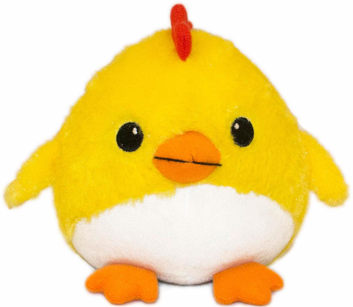 Gulliver Мягкая игрушка Цыпленок Солнышко 12 см 66-OT159347-1 gulliver мягкая игрушка цыпленок солнышко в штанишках цвет желтый черный серый 12 см