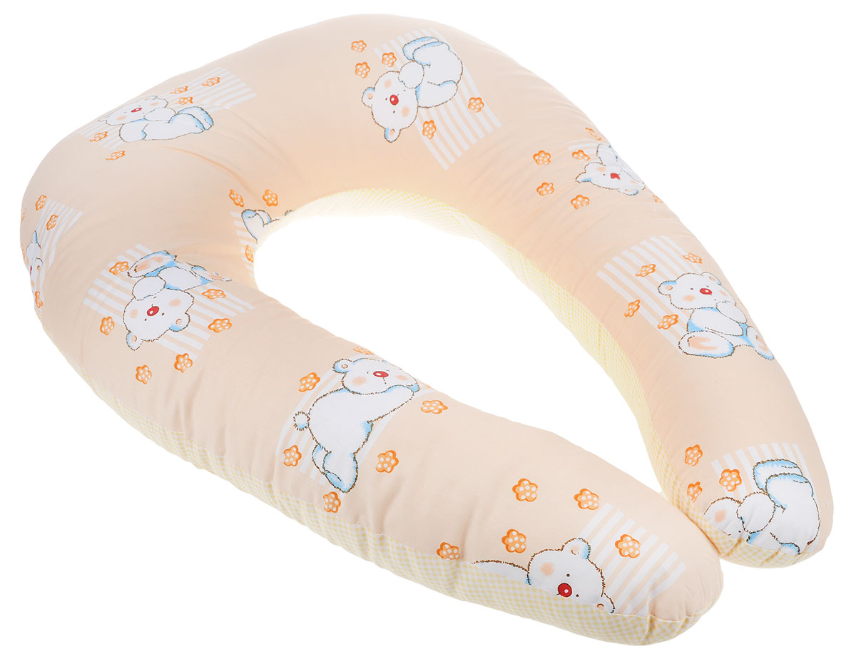 """Подушка многофункциональная Primavelle """"Comfy Baby"""" подарит удобство малышу и его родителям. Чехол изготовлен из бязи (100% хлопок), наполнитель - экофайбер. Будущая мама может использовать подушку во время беременности: для сна, при выполнении предродовых упражнений или просто для комфортного отдыха. С появлением малыша подушка будет незаменима при кормлении: размещенная вокруг талии мамы, подушка позволит максимально удобно расположить ребенка, тем самым уменьшая нагрузку на позвоночник. Позже """"Comfy Baby"""" может пригодиться малышу, когда он начнет садиться, поддерживая его спину. Изделие легко стирается в стиральной машине и быстро сохнет.    Список вещей в роддом. Статья OZON Гид"""