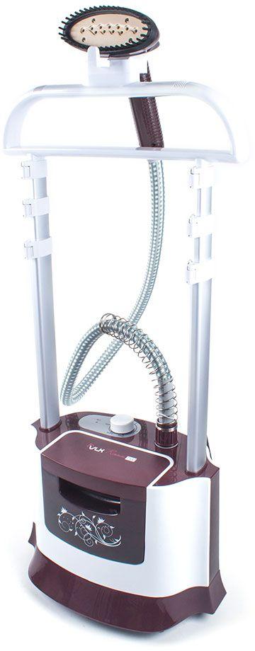 VLK Rimmini 7100 отпаривательVLK Rimmini 7100Отпариватель VLK Rimmini 7100 предназначен для вертикального отпаривания одежды и различных вещей из шёлка, капрона, нейлона, полиэстера и других тканей. Легко удаляет складки с одежды. Под действием пара волокна тканей не растягиваются и не сжимаются, как под воздействием утюга, а приобретают объемность, эластичность и первоначальный блеск. Пароочиститель также производит очистку и дезинфекцию одежды.