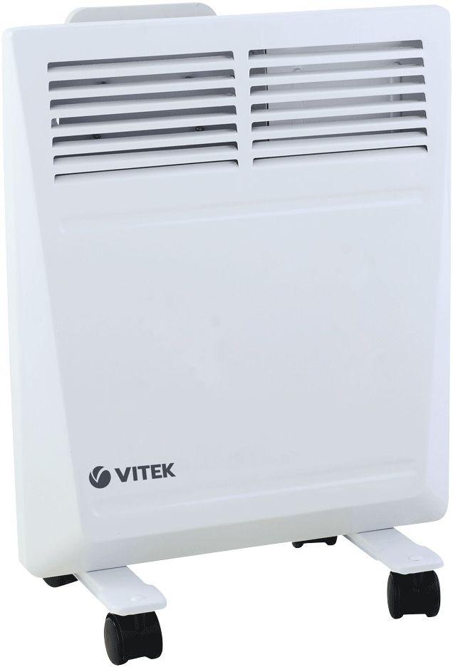 Vitek VT-2171(W) конвекторVT-2171(W)Конвектор Vitek VT-2171(W) - компактная модель, которая подходит для установки в ограниченном пространстве. Вместе с тем он оснащен мощными нагревательными элементами, которые позволяют отапливать помещения с площадью до 15 квадратных метров. Встроенный электронный термостат поддерживает в помещении заданную температуру, не допуская сильных отклонений от установленного значения. Кроме того, он автоматически отключает прибор при перегреве, не допуская его поломки. В устройстве предусмотрены специальные крепления для настенного монтажа, а также колеса для напольной установки и быстрой транспортировки в пределах дома, офиса или квартиры.Как выбрать обогреватель. Статья OZON Гид