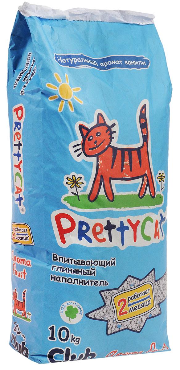 Наполнитель для кошачьих туалетов PrettyCat Aroma Fruit, с део-кристаллами, 10 кг. 620291620291_10 кгНаполнитель для кошачьих туалетов PrettyCat Aroma Fruit - это впитывающий глиняный наполнитель. Изготовлен из высококачественной цеолит глины, део-кристаллов, натуральных пищевых арома-масел. Это абсолютно экологически чистый продукт. Натуральные пищевые ароматизаторы с ароматом тропических фруктов и ванили безопасны для вашей кошки. От ее лапок всегда будет вкусно пахнуть ванилью. Глиняные гранулы прекрасно впитывают жидкость, предотвращают размножение бактерий и обеспечивают обеспыливание. Особые део-кристаллы устраняют запах, оставляя только фруктовый аромат. Благодаря новой формуле одной пачки хватает до 2-х месяцев. Впитывающий глиняный наполнитель нравится абсолютно всем кошкам и их хозяевам.Состав: цеолит глина, део-кристаллы, арома-масла.