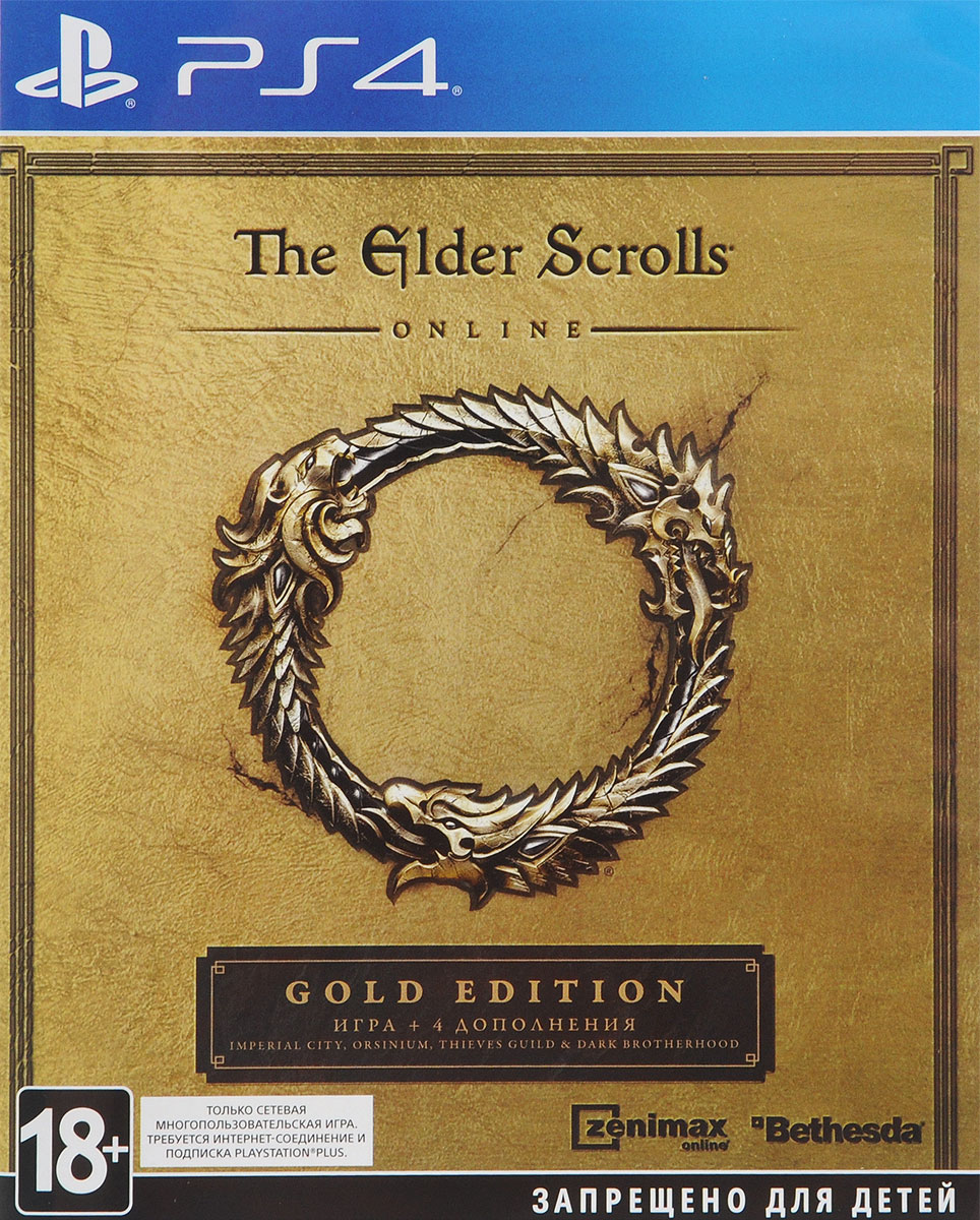 Elder Scrolls Online: Gold Edition (PS4) the elder scrolls online morrowind игра для ps4