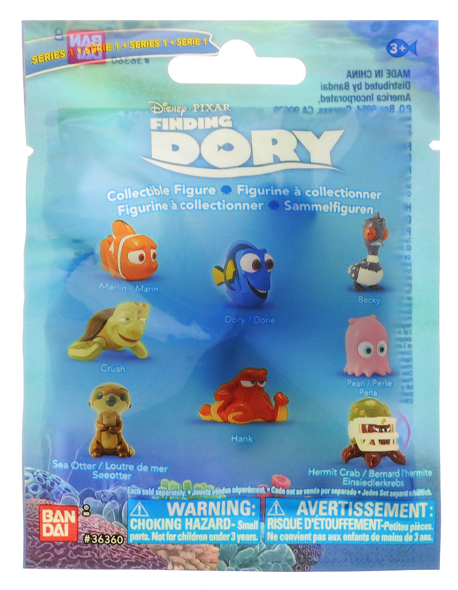 Finding Dory Фигурка подводного обитателя 4-5 см