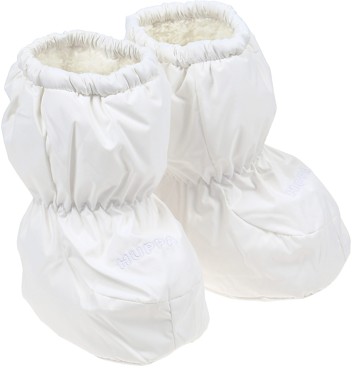 Пинетки детские Huppa Taylor, цвет: белый. 8701BASE-60020. Размер универсальный шапка для девочки huppa ulla цвет белый 83880000 60020 размер 51 53